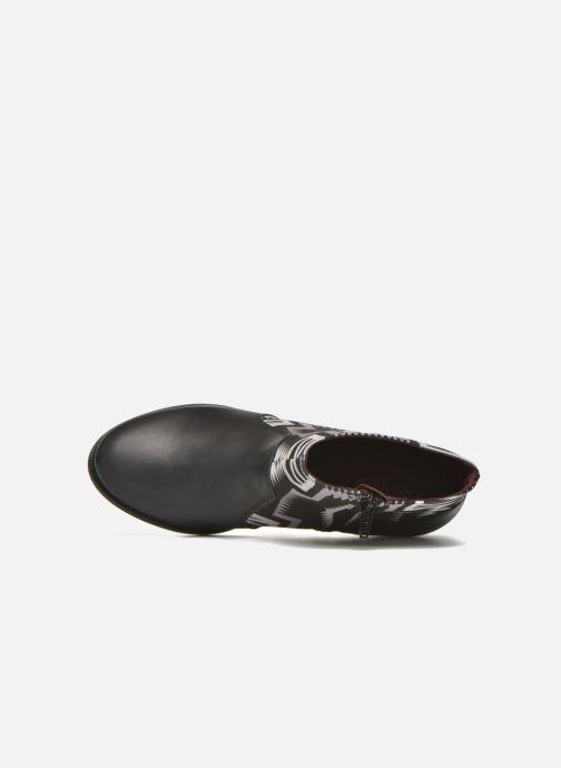 Boots en enkellaarsjes Desigual Cris Zwart links