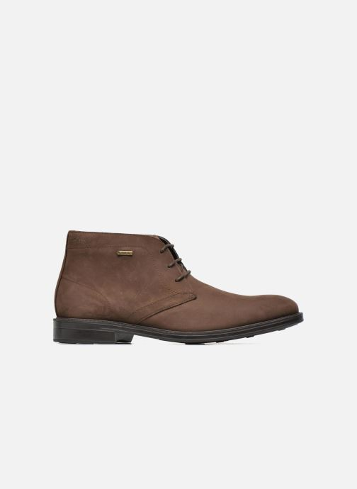 Lace-up shoes Clarks Chilver Hi GTX Brown back view