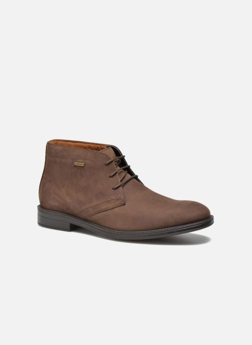 Lace-up shoes Clarks Chilver Hi GTX Brown detailed view/ Pair view