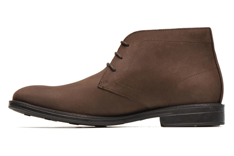 Chaussures à lacets Clarks Chilver Hi GTX Marron vue face