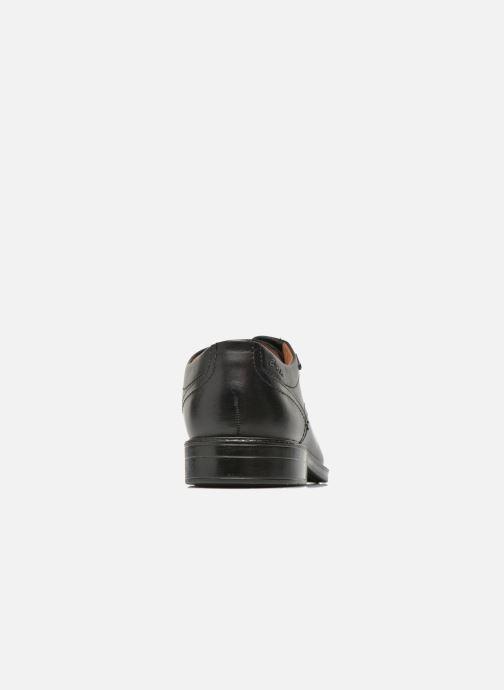 Chaussures à lacets Clarks Chilver Walk GTX Noir vue droite