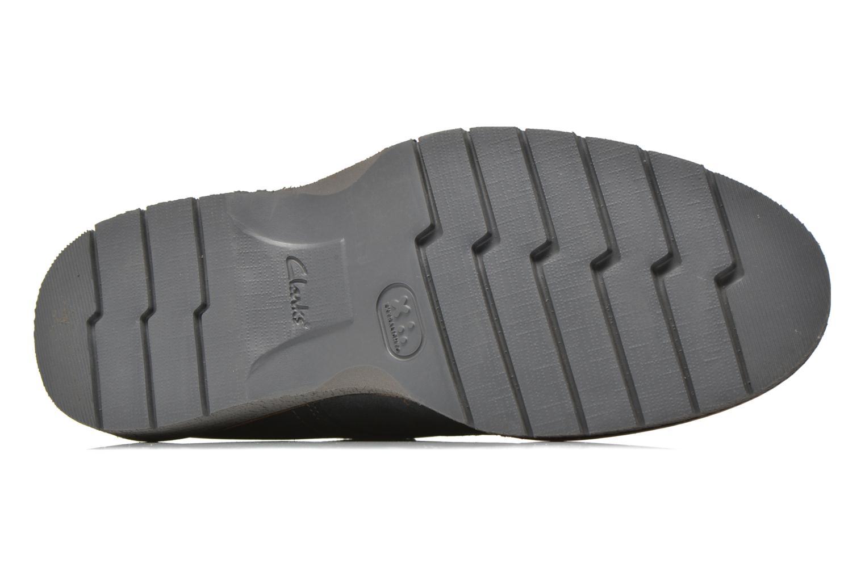 Chaussures à lacets Clarks Newkirk Plain Bleu vue haut