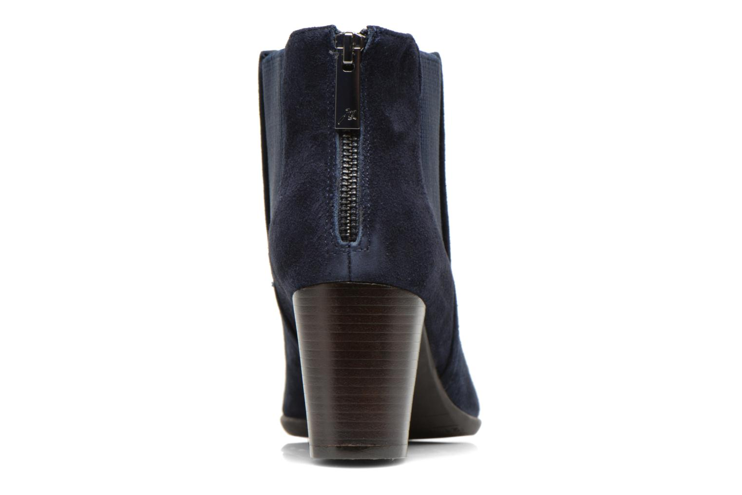 Ankle boots JB MARTIN Candide Blue view from the right