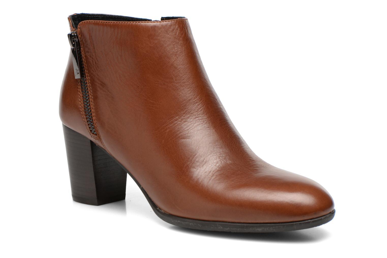 Bottines et boots JB MARTIN Cottage Marron vue détail/paire