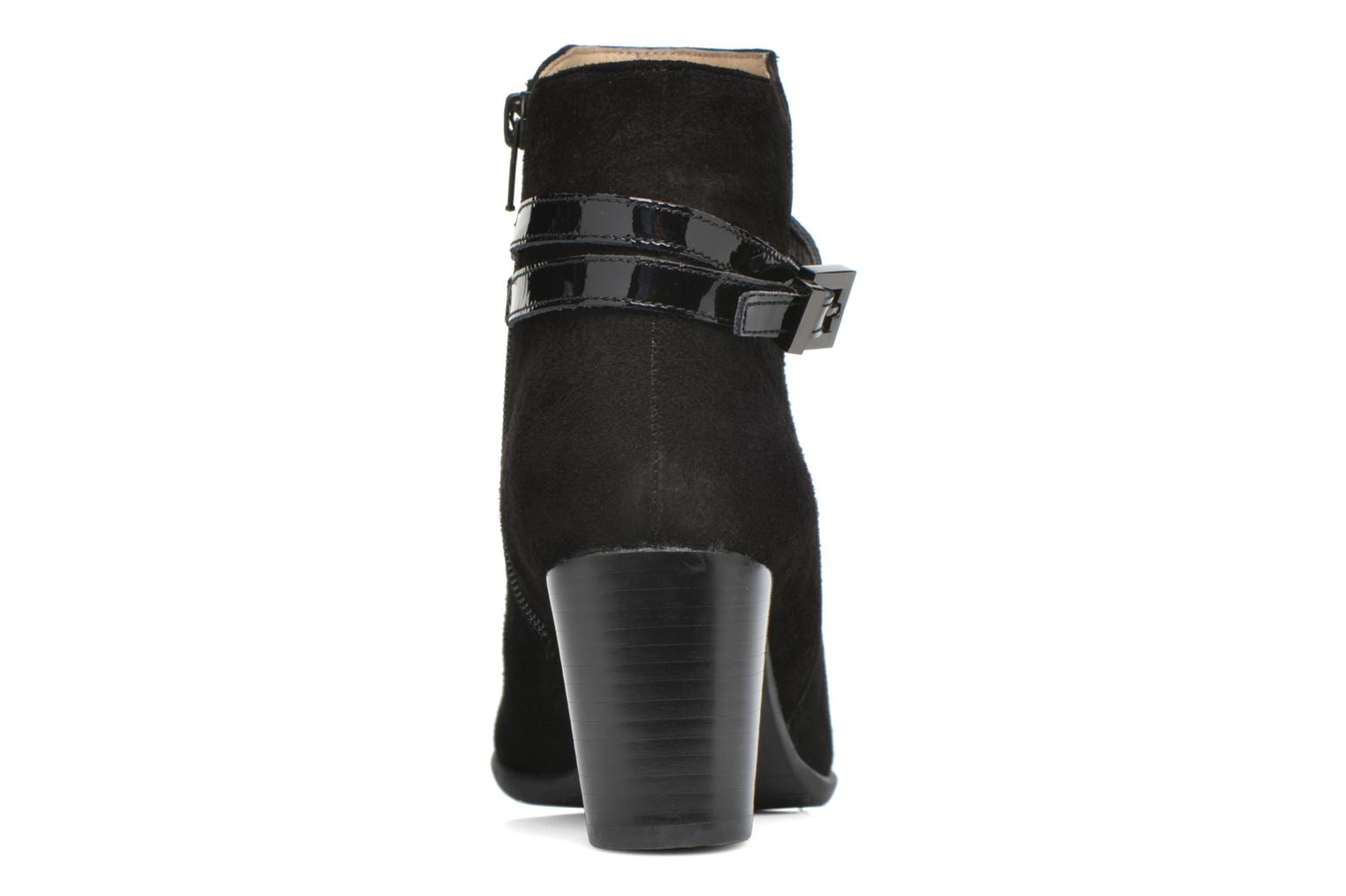Ankle boots JB MARTIN Cynthia Black view from the right