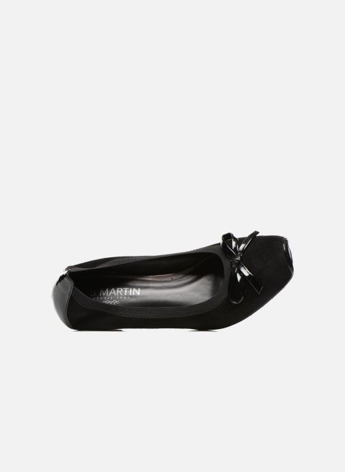 Ballet pumps JB MARTIN Nolton Black view from the left