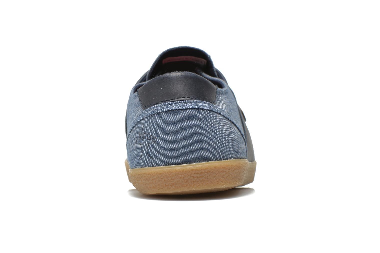 Baskets Faguo Cypress W Bleu vue droite