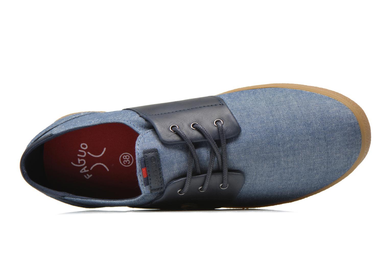 Baskets Faguo Cypress W Bleu vue gauche
