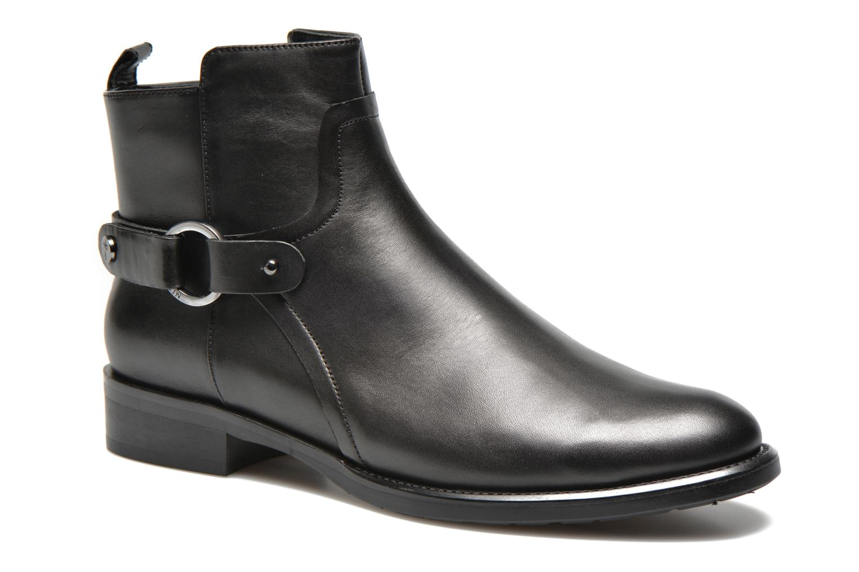 Ankelstøvler JB MARTIN 3Barcelone Sort detaljeret billede af skoene