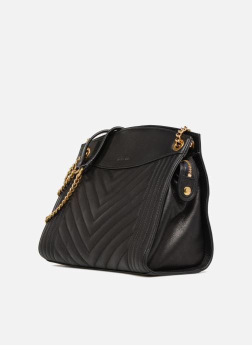 Handtaschen Nat & Nin Simone schwarz schuhe getragen