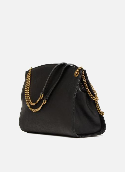 Handtaschen Nat & Nin Simone schwarz ansicht von rechts