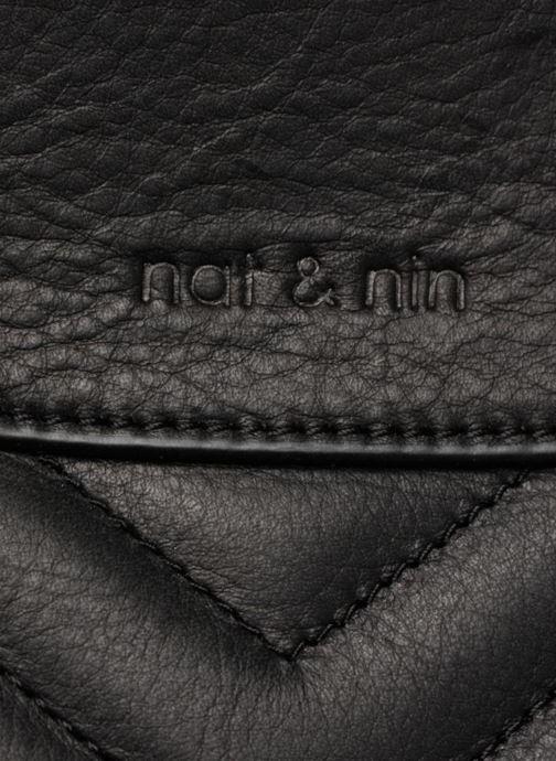 Handtaschen Nat & Nin Simone schwarz ansicht von links
