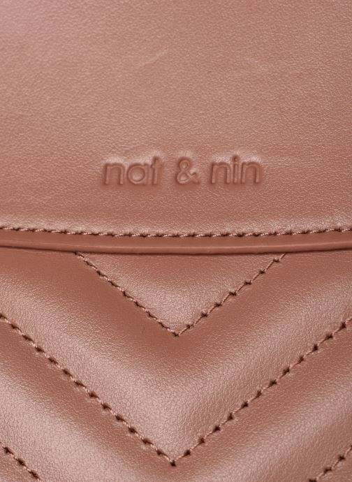 Bolsos de mano Nat & Nin Simone Rosa vista lateral izquierda