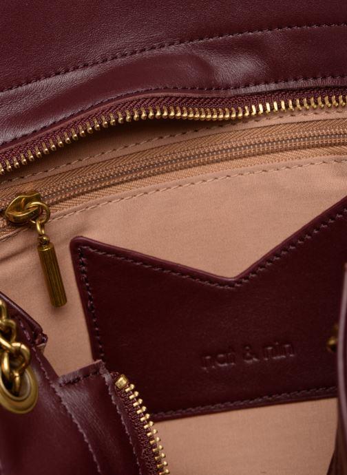 Handtaschen Nat & Nin Simone weinrot ansicht von hinten