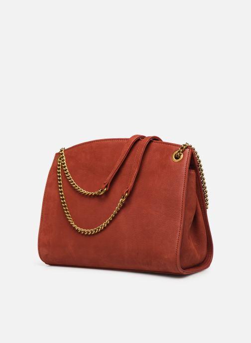 Handtaschen Nat & Nin Simone rot ansicht von rechts