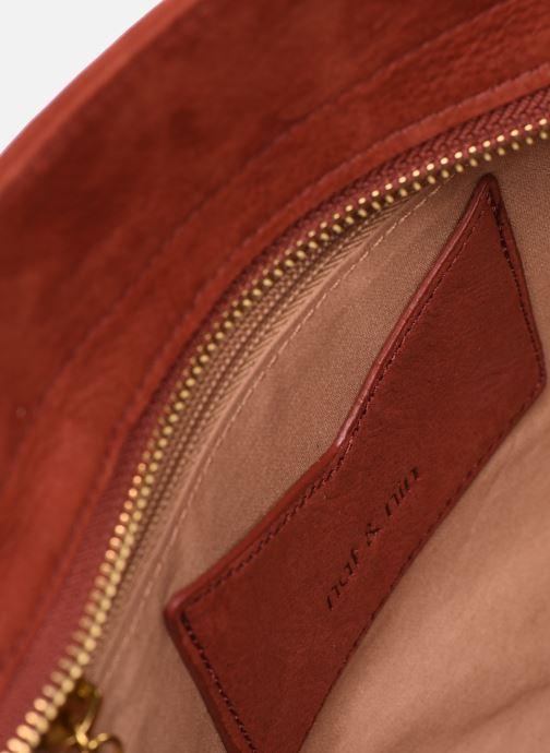 Handtaschen Nat & Nin Simone rot ansicht von hinten