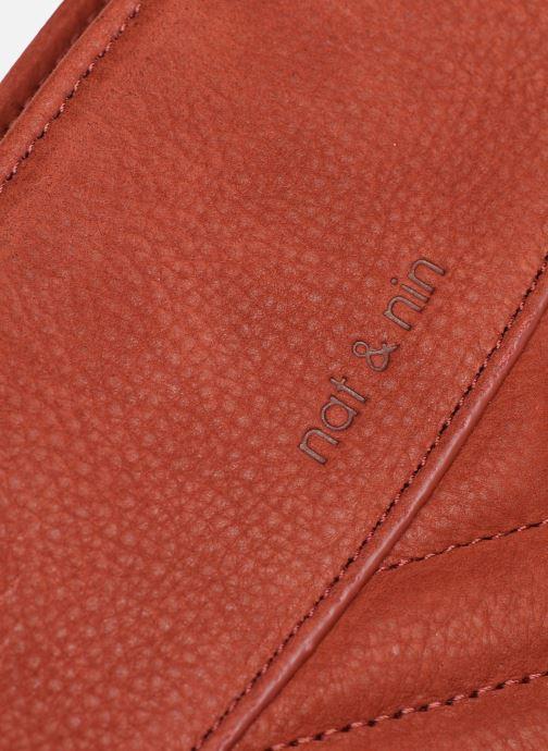 Handtaschen Nat & Nin Simone rot ansicht von links