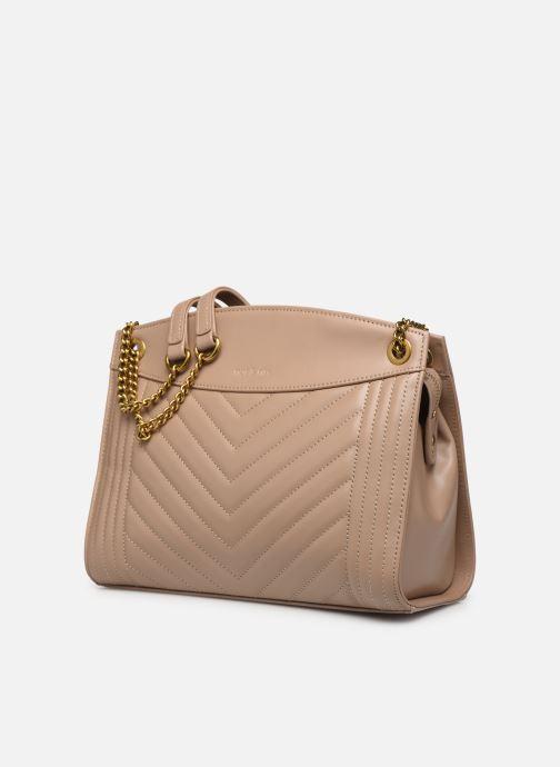 Handtaschen Nat & Nin Simone beige schuhe getragen