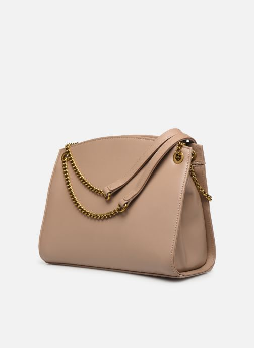 Handbags Nat & Nin Simone Beige view from the right