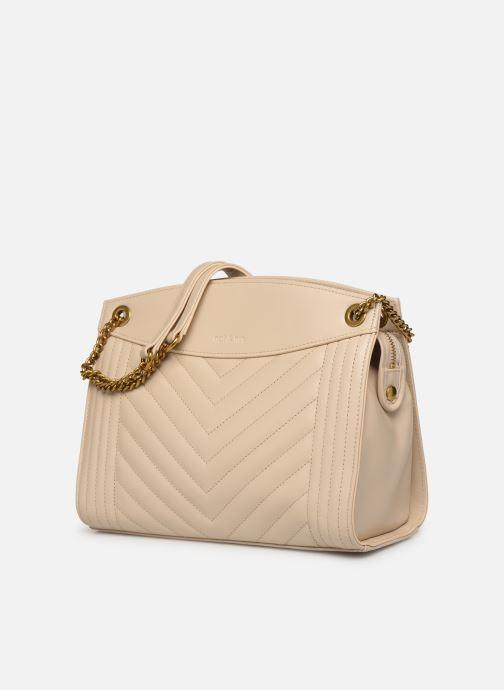 Handbags Nat & Nin Simone White model view