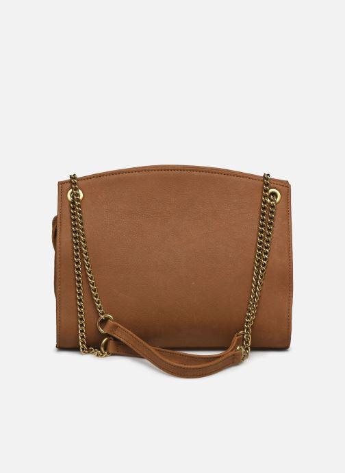 Handtaschen Nat & Nin Simone braun ansicht von vorne
