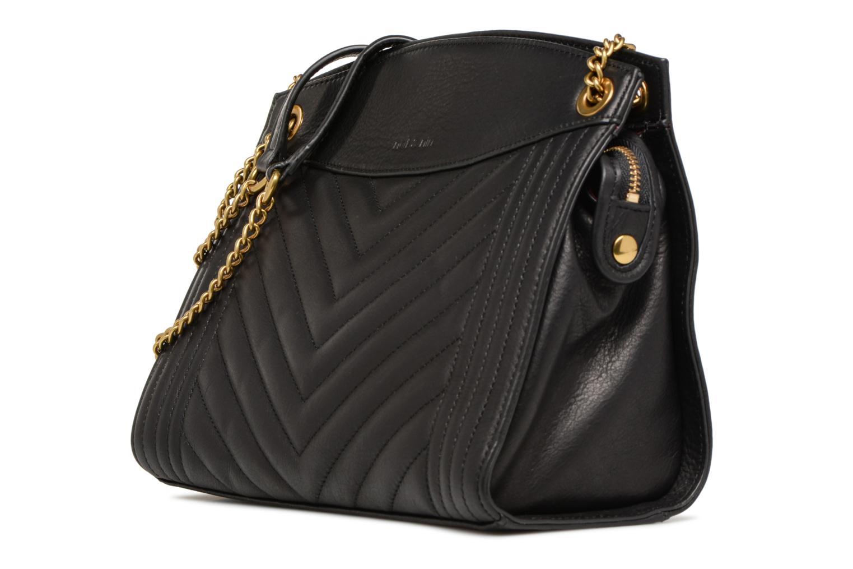 Handbags Nat & Nin Simone Black model view