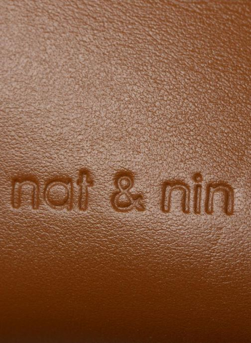 Sacs à main Nat & Nin Iris Marron vue gauche