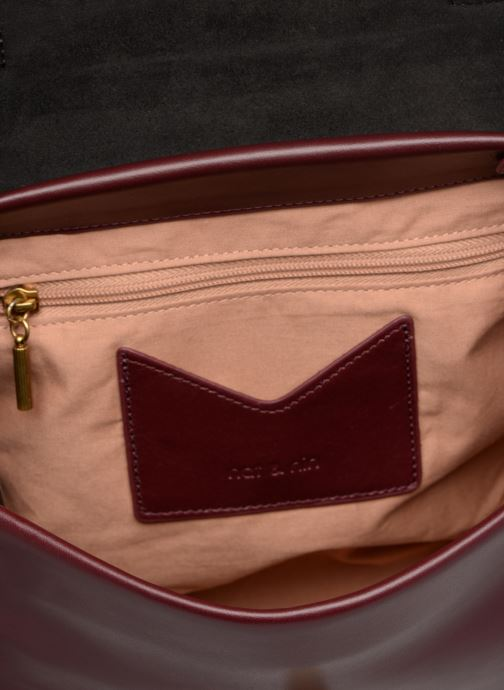 Handbags Nat & Nin Iris Burgundy back view