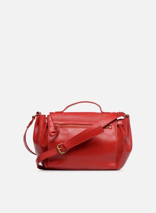 Handtaschen Nat & Nin Iris rot ansicht von vorne