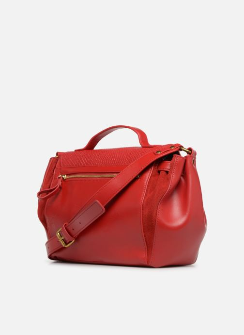 Handtaschen Nat & Nin Iris rot ansicht von rechts