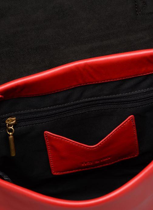 Handtaschen Nat & Nin Iris rot ansicht von hinten