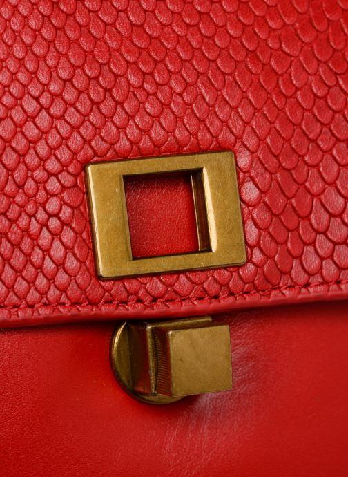 Handtaschen Nat & Nin Iris rot ansicht von links