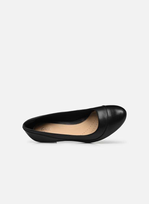 Zapatos de tacón Clarks Denny Harbour Negro vista lateral izquierda