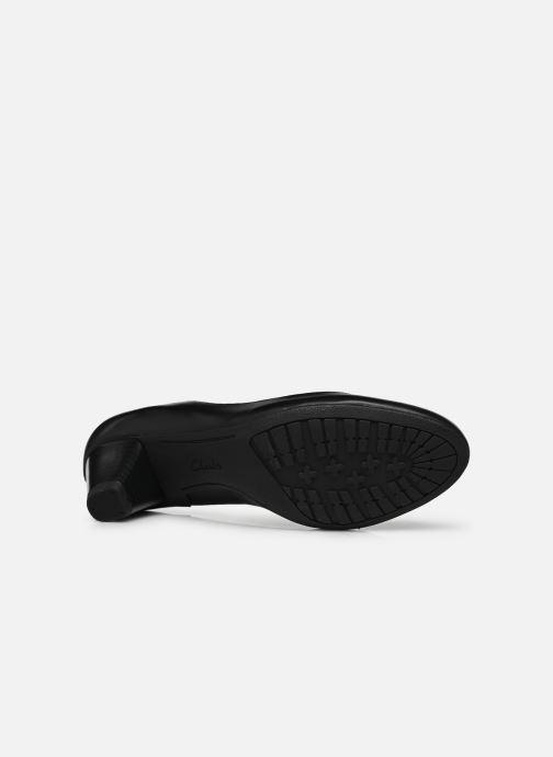 Zapatos de tacón Clarks Denny Harbour Negro vista de arriba