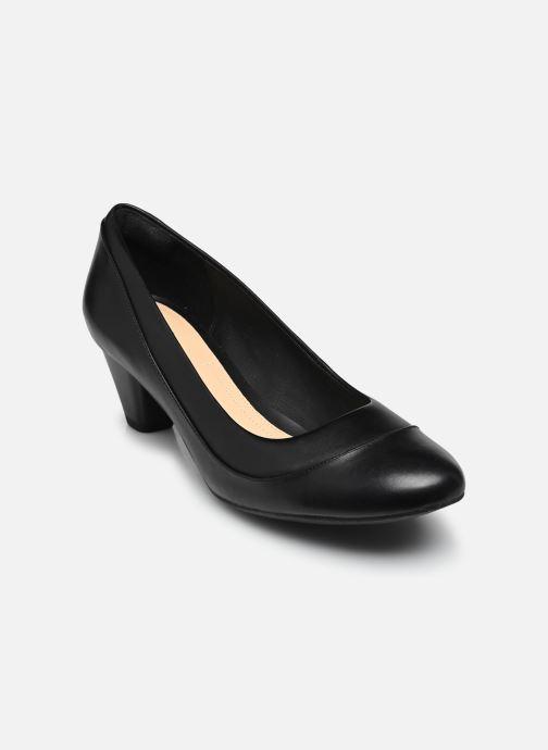 Zapatos de tacón Clarks Denny Harbour Negro vista de detalle / par