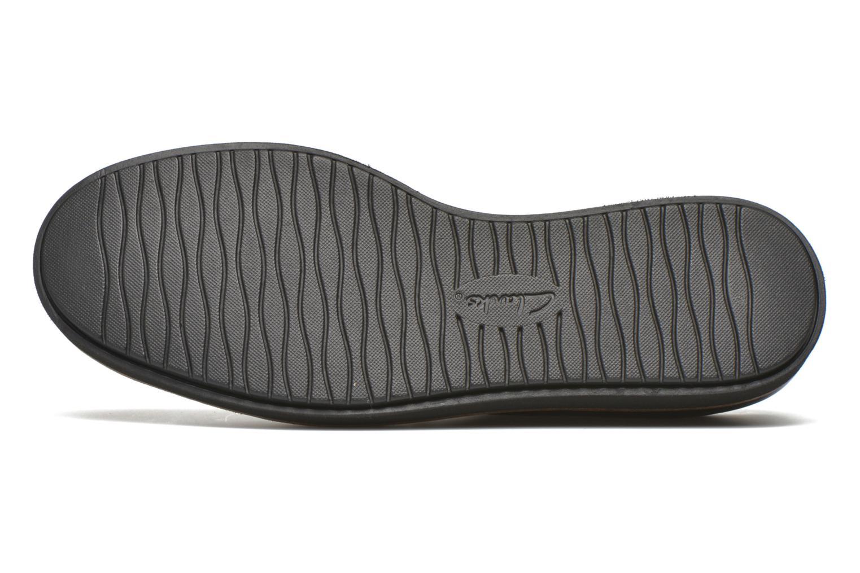 Chaussures à lacets Clarks Glick Darby Bordeaux vue haut