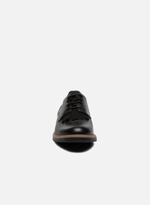 Lace-up shoes Clarks Griffin Mabel Black model view