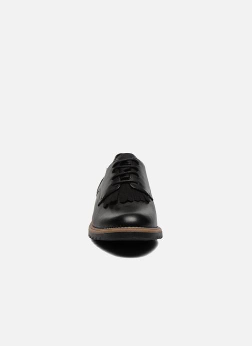Chaussures à lacets Clarks Griffin Mabel Noir vue portées chaussures