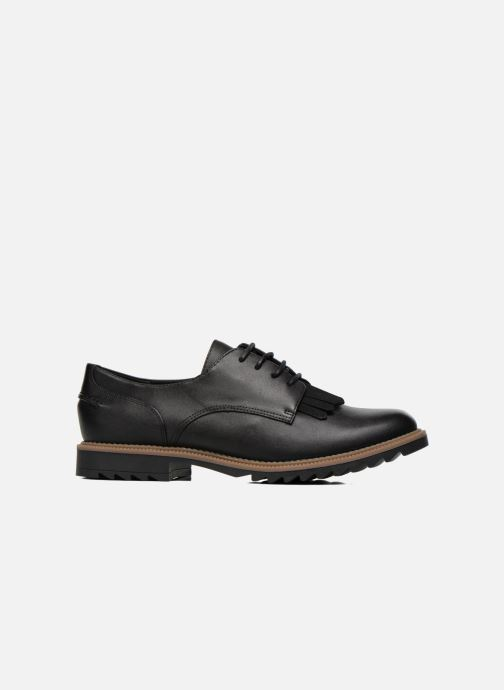Lace-up shoes Clarks Griffin Mabel Black back view