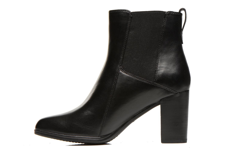 Boots en enkellaarsjes Clarks Kadri Liana Zwart voorkant