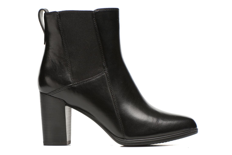 Boots en enkellaarsjes Clarks Kadri Liana Zwart achterkant
