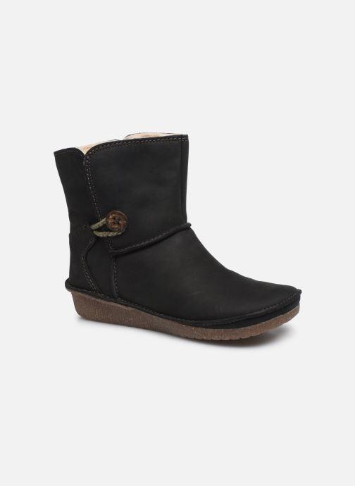 Boots en enkellaarsjes Clarks Lima Caprice Zwart detail