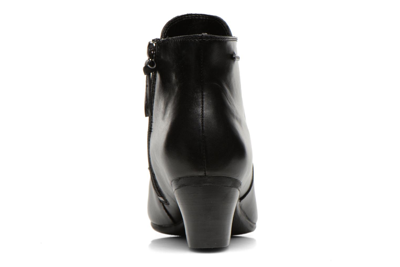 Bottines et boots Clarks Melanie Su GTX Noir vue droite
