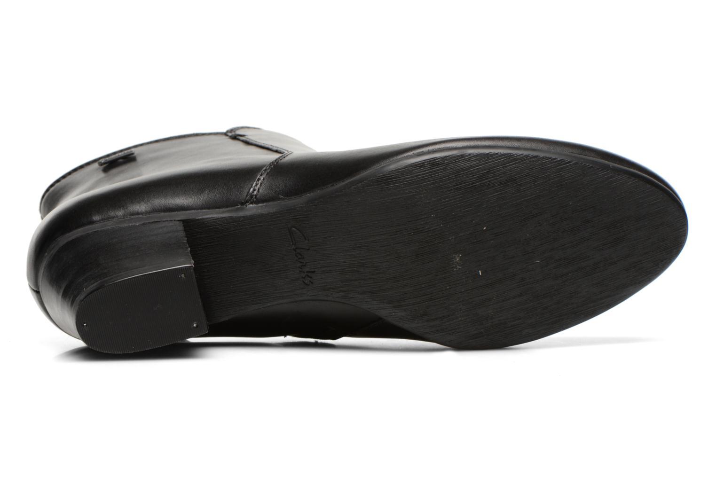 Bottines et boots Clarks Melanie Su GTX Noir vue haut