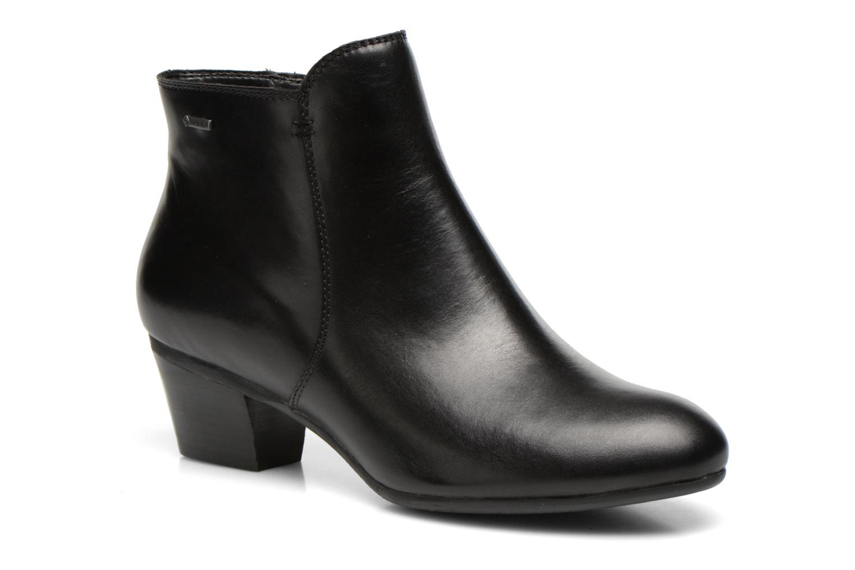 Bottines et boots Clarks Melanie Su GTX Noir vue détail/paire