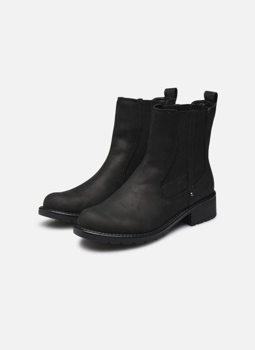 Stiefeletten & Boots Clarks Orinoco Club schwarz ansicht von unten / tasche getragen