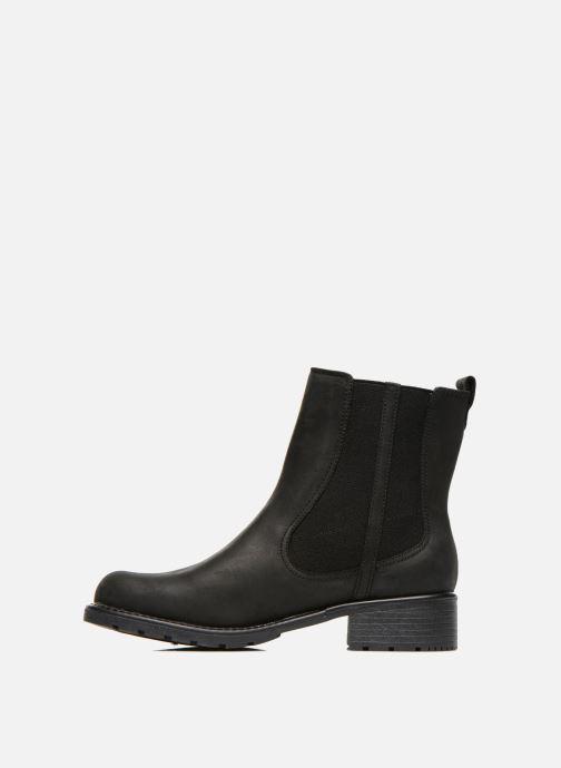 Boots en enkellaarsjes Clarks Orinoco Club Zwart voorkant