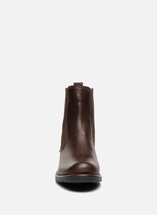 Boots Clarks Orinoco Club Brun bild av skorna på