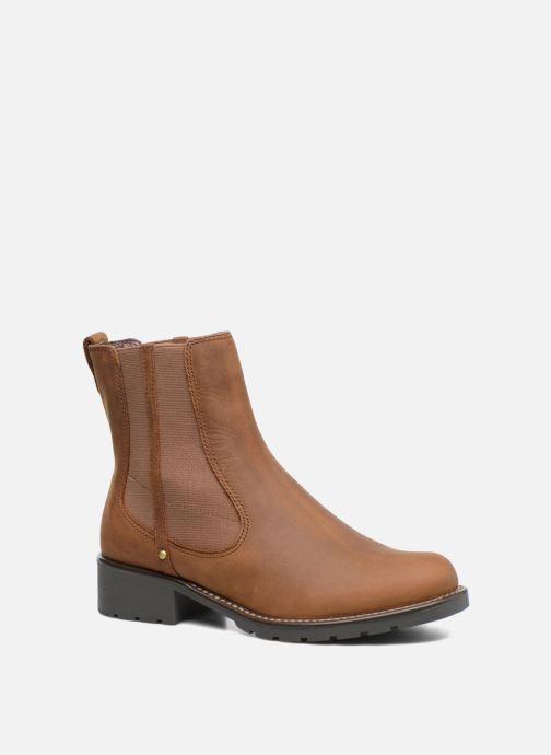 Bottines et boots Clarks Orinoco Club Marron vue détail/paire