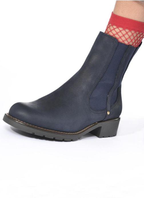 Stiefeletten & Boots Clarks Orinoco Club blau ansicht von unten / tasche getragen